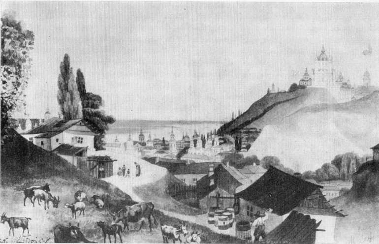 Андреевская церковь в киеве как строилась