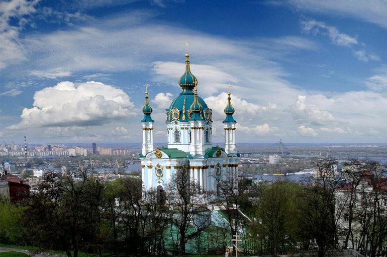 Андреевский храм в киеве