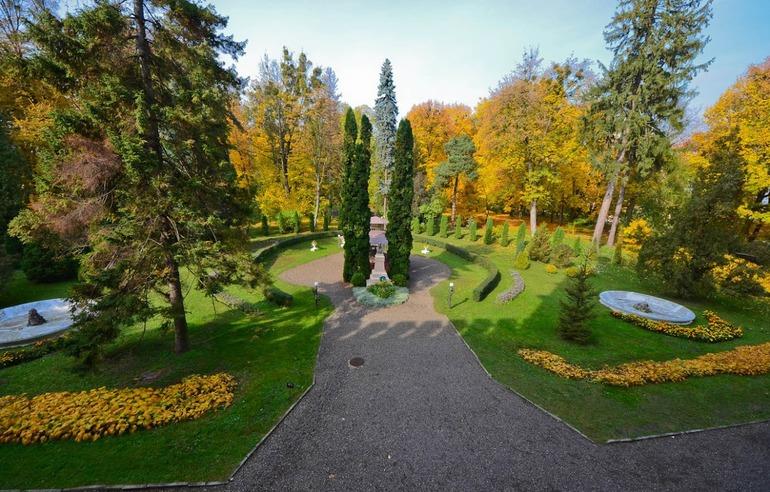 Ботанический сад в городе Черновцы