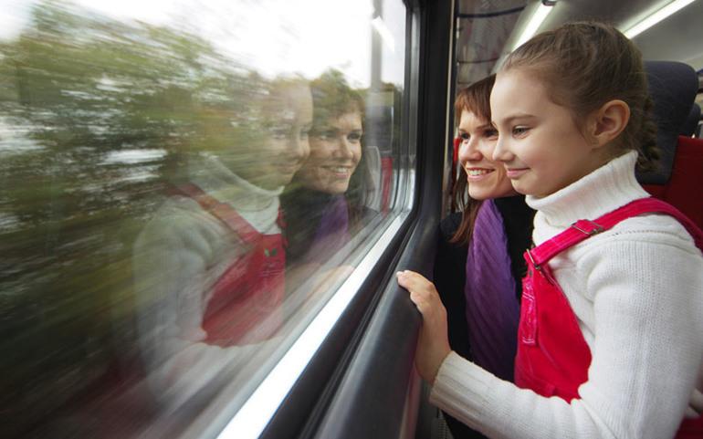 детский билет на поезд