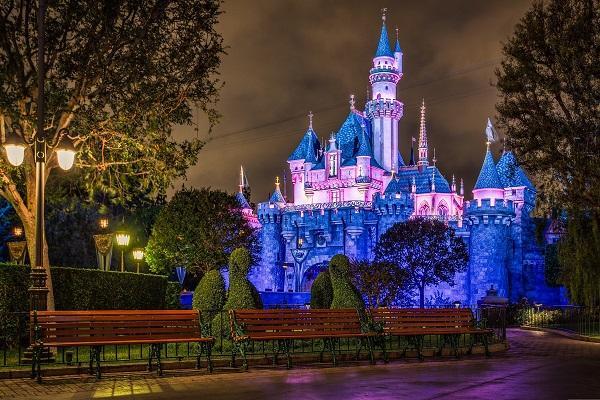Замок Спящей Красавицы Диснейленд