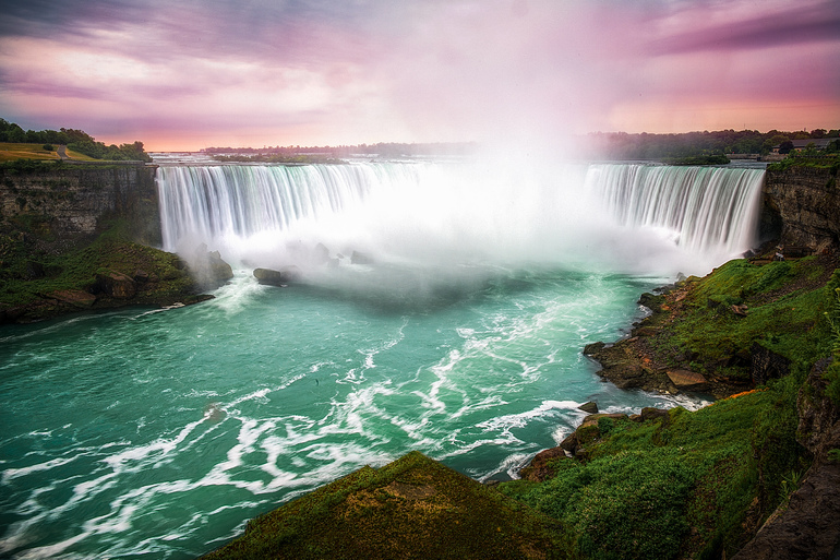 История водопада