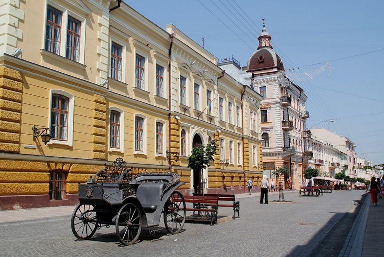 Улицы Черновцы