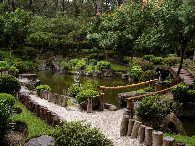 японский сад вднх