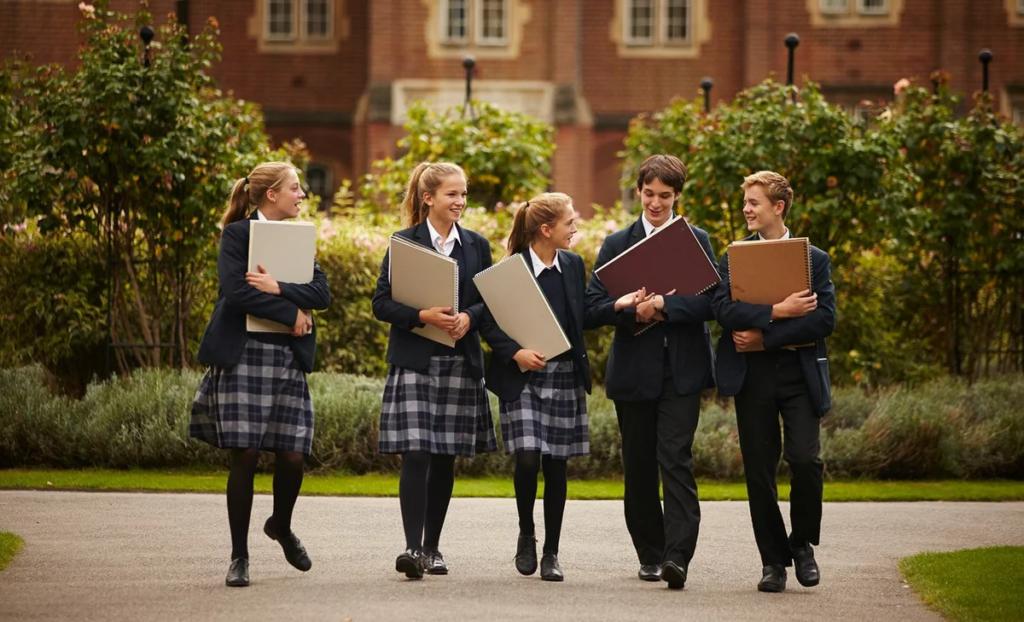 Обучение за рубежом. Школьное образование в Англии